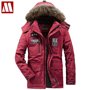 Thick Warm Outwear Men Windbreaker Big Size  Duck Down Coat