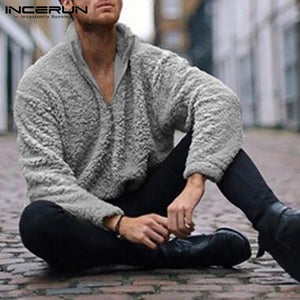 Fashion Brand Pullover Mens Sweatshirts Tracksuit Warm Winter Sweats Off White 3XL Joggers Sweatshirt Hombre Mens Clothing