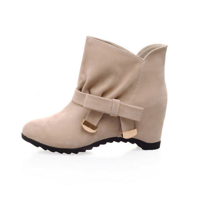 Women Warm Ankle Winter Fashion Boots