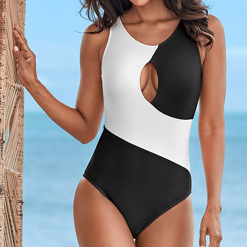 Women's Bikini One Piece Swimsuit Pushups Filled Bra Swimwear Beachwear