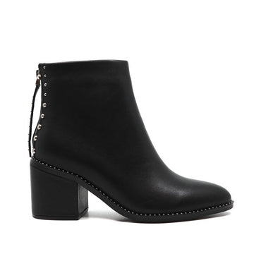 Petra IV | Mid heel leather ankle boot