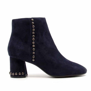 Karla Marino | Mid heel suede ankle boot