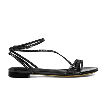 Candal | Flat patent leather sandal