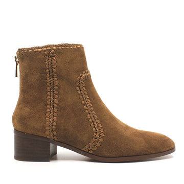 Gordon Brown | Low heel suede ankle boot
