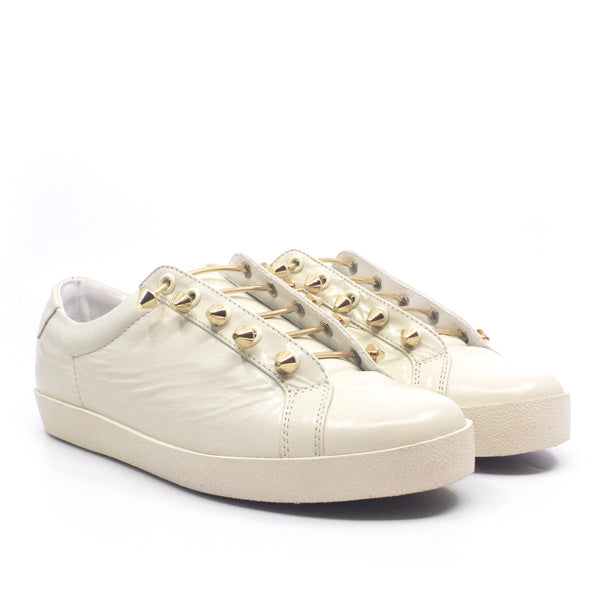 Joe II | Off white leather sneaker