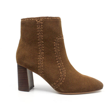 Polly | Suede high heel boot