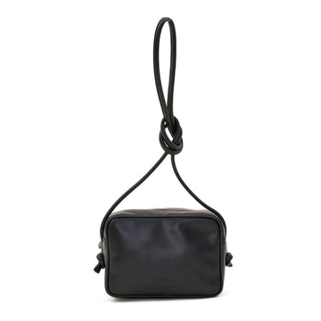 Cassis Black | Leather crossbody bag