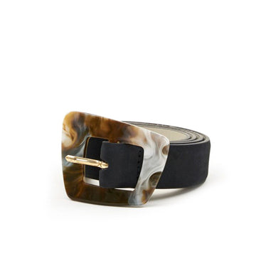 Cinturon Black | Leather belt