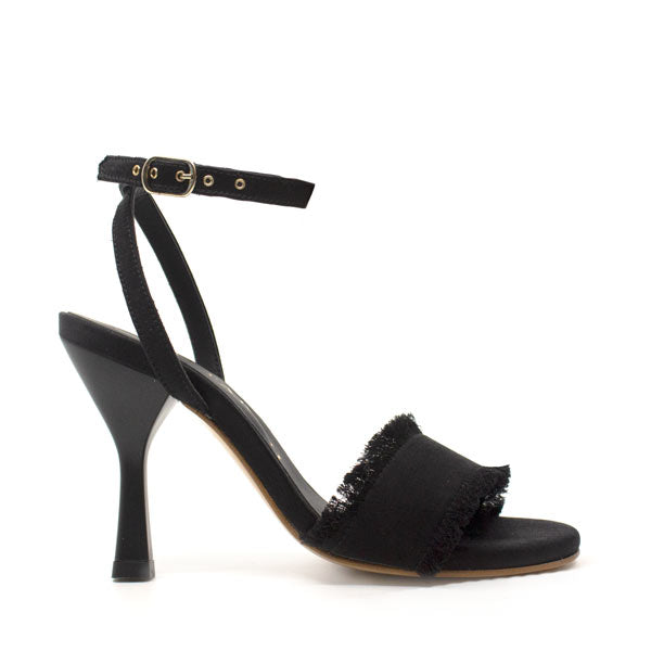 Zulema Black | High heel stiletto sandal