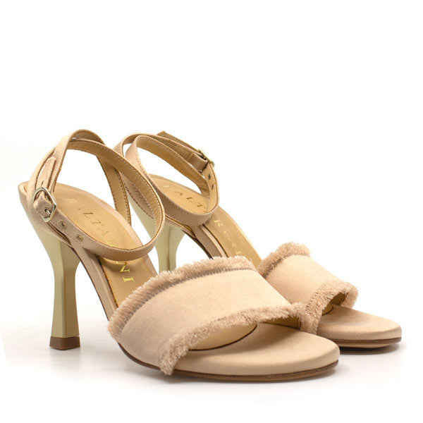 Zulema Champagne | High heel stiletto sandal