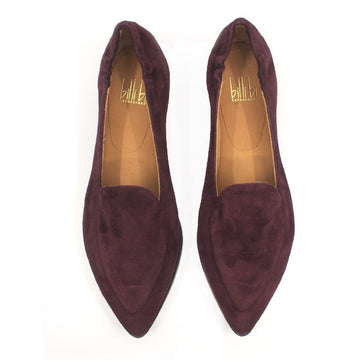 91512 Bordo | Flat suede loafer