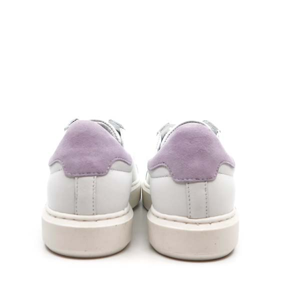 Fox Poppy Lilac | Leather Sneakers