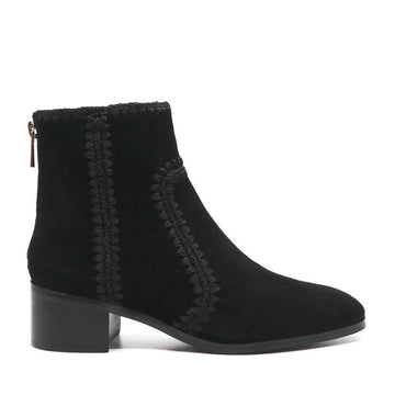 Gordon Black | Suede ankle boot