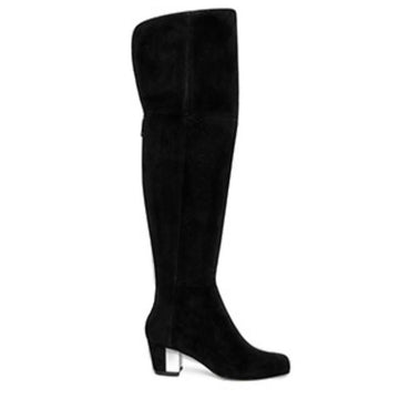 Francoise | Over the knee suede boot