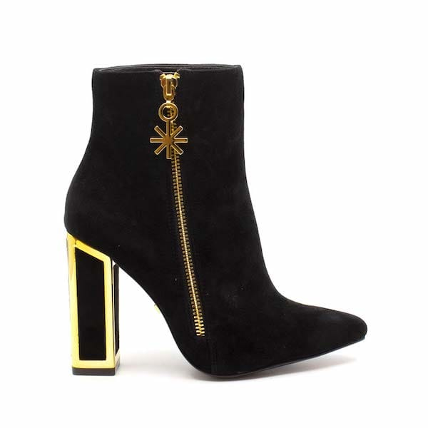 Agnes | high heel suede ankle boot