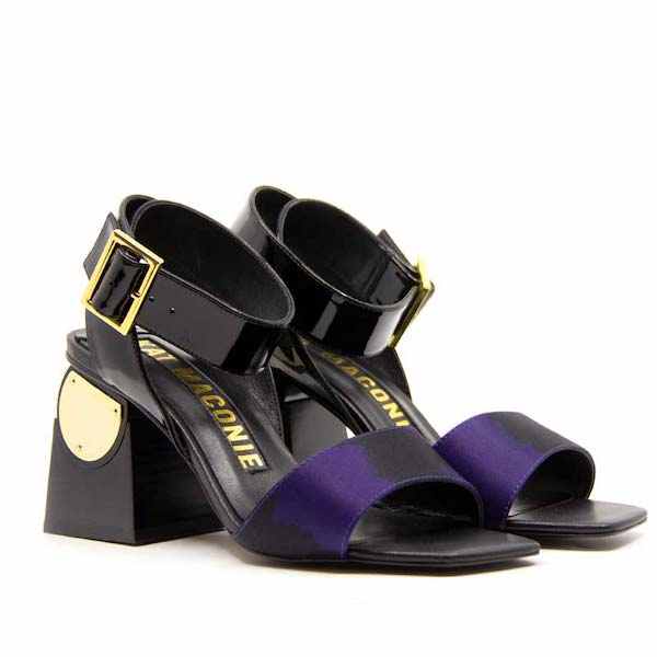 Nyla | high heel leather sandal