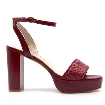 Angie Bordo | Platform leather sandals