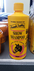 Joseph and lyddy show shampoo