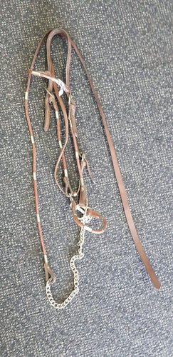 Western lead in halter with chain full size