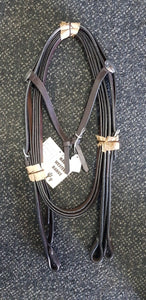 knotted bridle with reins