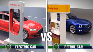 Difference between electric car and piston engine car