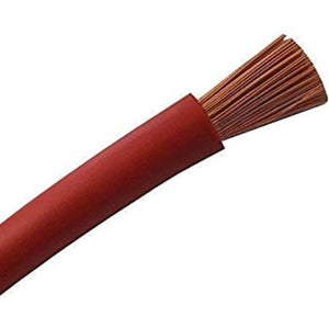 Flexible cable 1mm² red