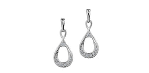 bijouterie-clermont-labrecque-Boucles-oreilles-goutte-diamants-or-10K-blanc-am256