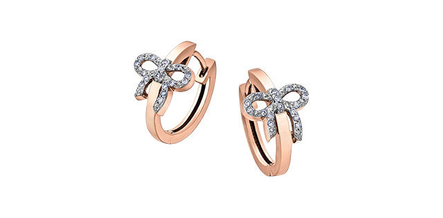 bijouterie-clermont-labrecque-Boucles-oreilles-ruban-diamants-or-10k-rose-blanc-dd3051