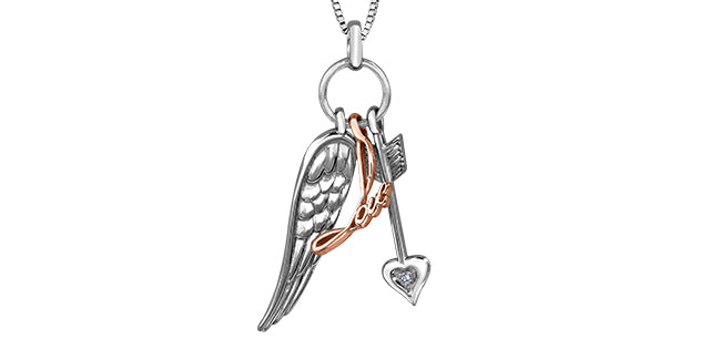 bijouterie-clermont-labrecque-Pendentif-Tri-love-diamants-or-10k-rose-blanc-dd7184