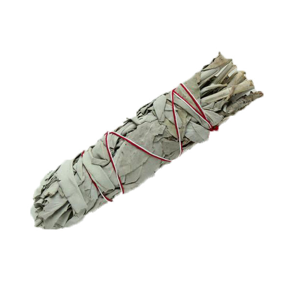 White Sage Smudge Stick Medium - Moonstone Felt And Crystals