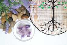 Load image into Gallery viewer, Amethyst Points Natural Extra small - Moonstone Felt And Crystals