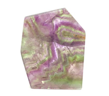 Load image into Gallery viewer, Fluorite Slab Polished - Moonstone Felt And Crystals
