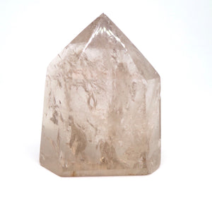 Smokey Quartz Point - Moonstone Felt And Crystals