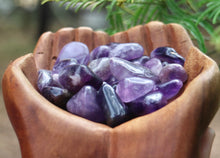 Load image into Gallery viewer, Amethyst Tumbles - Moonstone Felt And Crystals