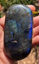 Load image into Gallery viewer, Labradorite Palm stone polished free form - Moonstone Felt And Crystals
