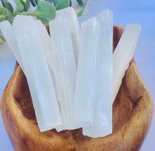 Load image into Gallery viewer, Selenite stick natural - Small - Moonstone Felt And Crystals