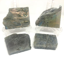 Load image into Gallery viewer, Labradorite Slab with polished face - small - Moonstone Felt And Crystals