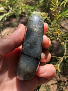 Labradorite Palm stone polished free form - Moonstone Felt And Crystals