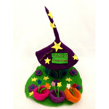 Load image into Gallery viewer, Felt Fairy House - Wand Shop - Moonstone Felt And Crystals