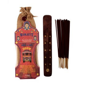Namaste Incense Pack - Moonstone Felt And Crystals