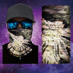 Snowcap Kush Face Shield/Mask Designed by Catch A Fire Arts