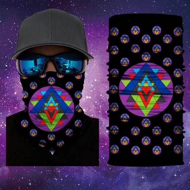 Sacred Geometry Gaiter Face Mask Covering Sacred Geometry Art 20 Of 28 Mask