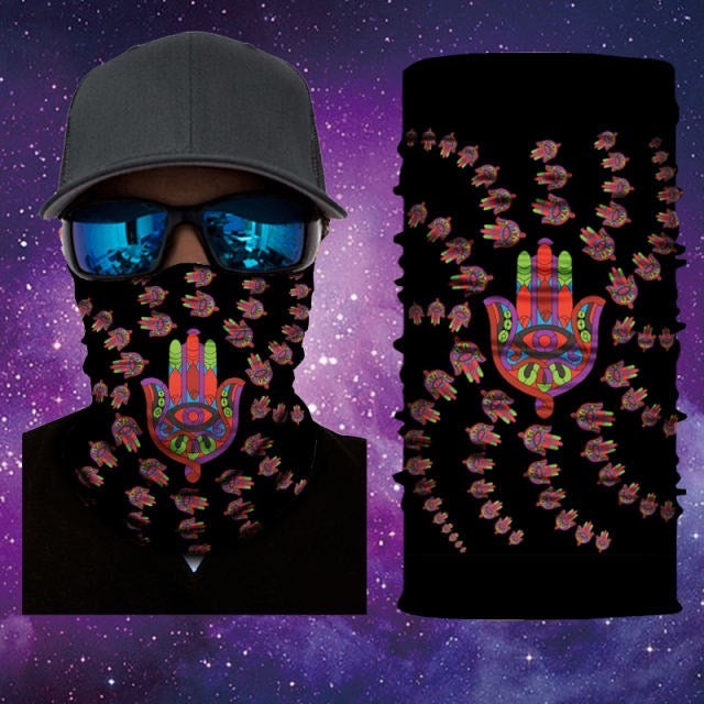 Gaiter Face Mask Covering Hamsa Mask 12 Of 28 Mask