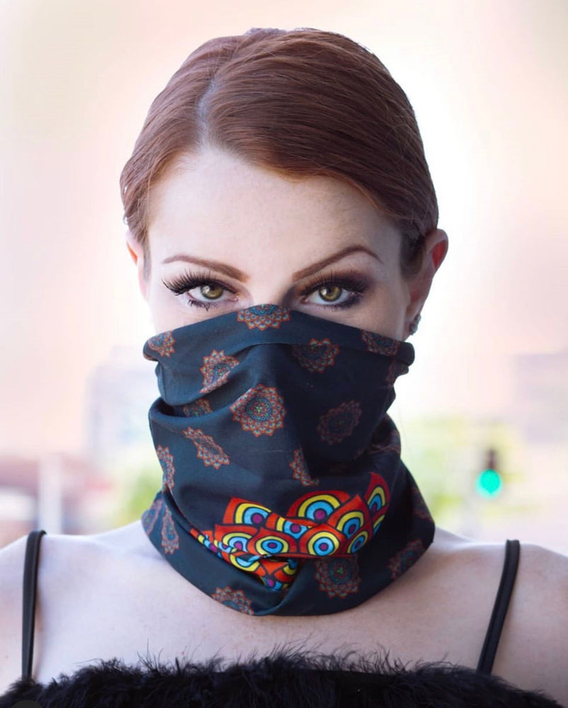 Mandala Gaiter Face Mask Covering Mandala Art 16 Of 28 Mask