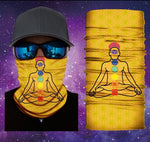 Gaiter Face Shield Chakra Flower Of Life Face Shield Face Mask Available And Ready To Ship