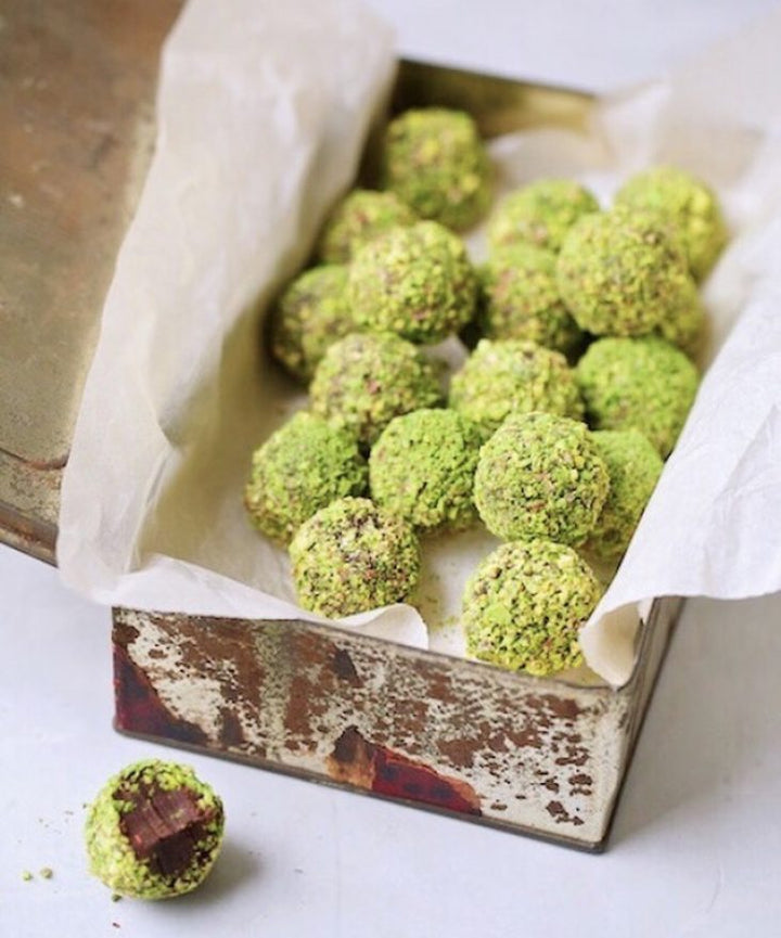 Matcha Chocolate Truffles
