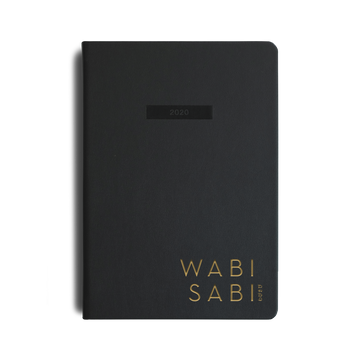 ***SOLD OUT IN STEALTH BLACK! ***wabi sabi 2020 planner in Stealth Black