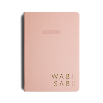 wabi sabi 2020 planner pretty in pink