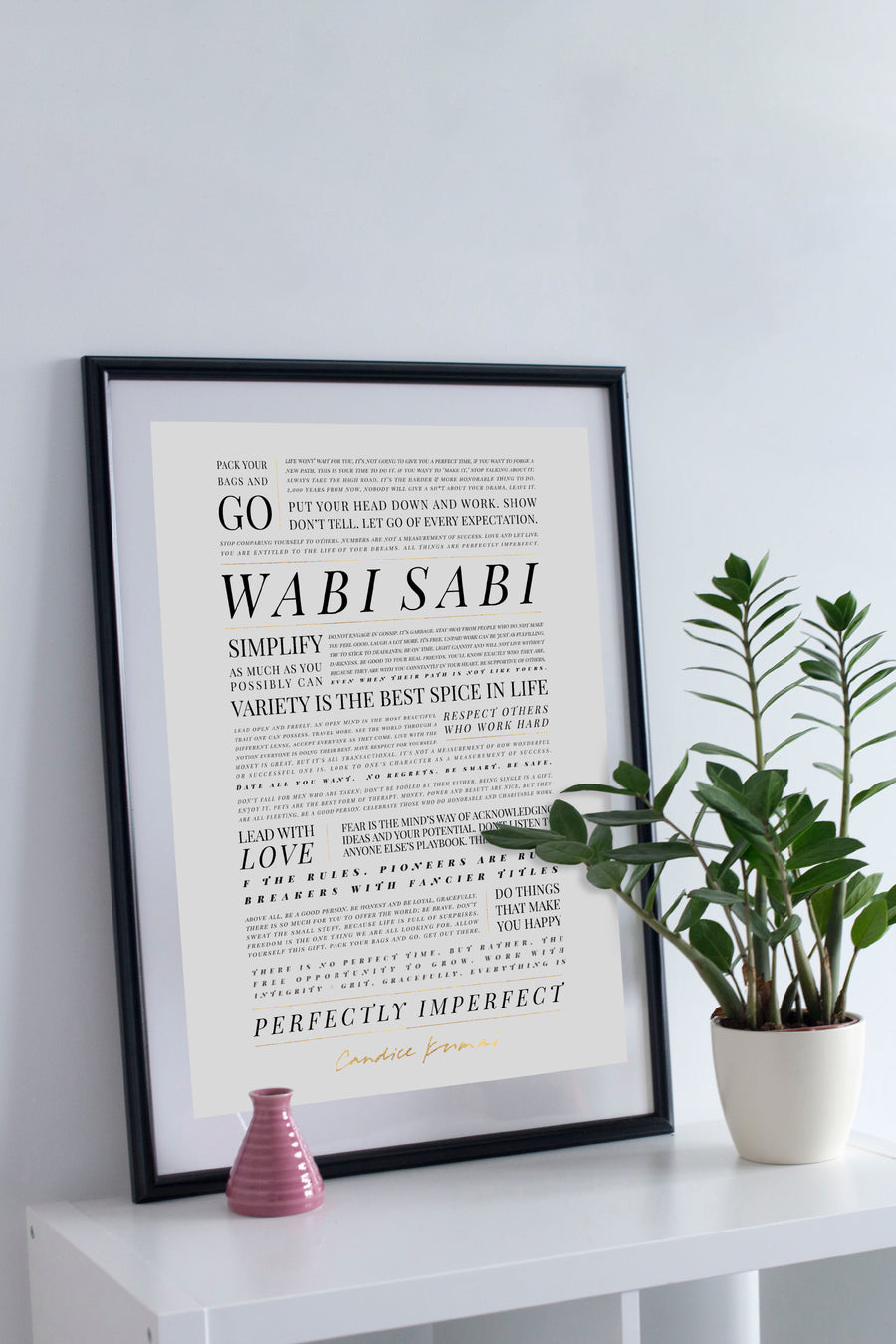The Wabi Sabi Manifesto