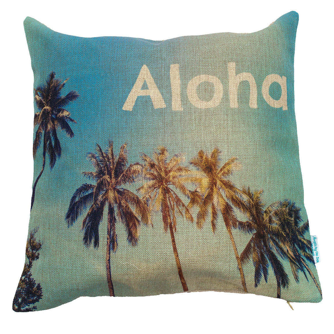 Aloha Palm Trees Pillow Case